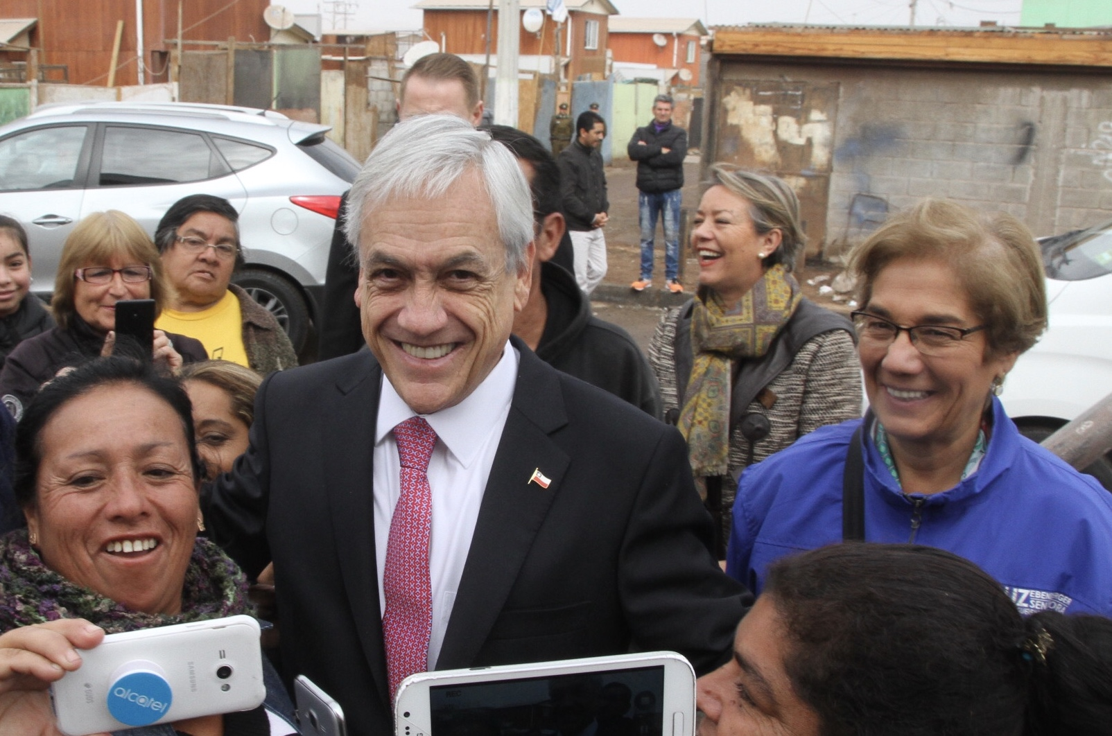 Visita de Sebastián Piñera a Tarapacá
