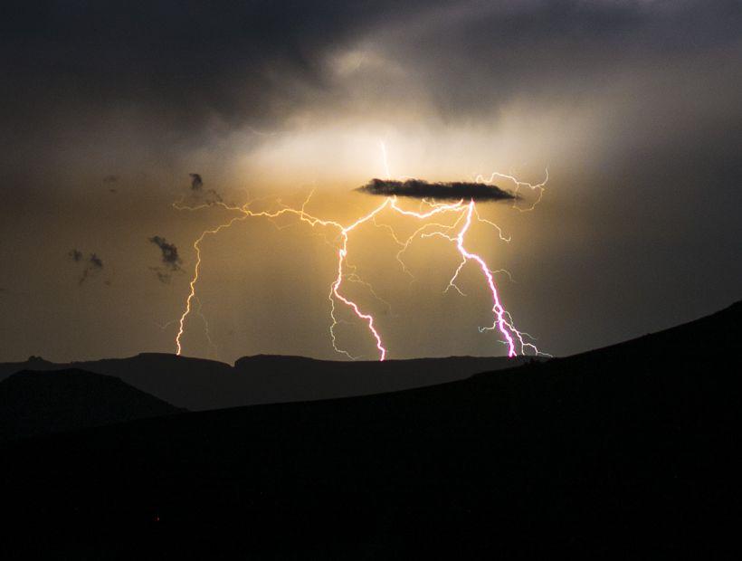 LONQUIMAY tormenta eléctrica afecta Pino Hachado