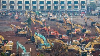 hospital en proceso de construcción