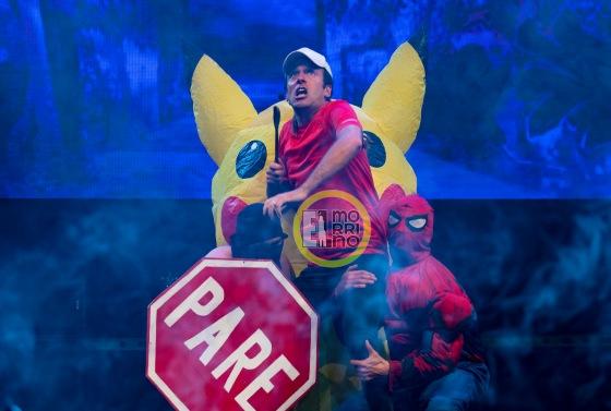 kramer, pareman, spiderman sexy y pikachu