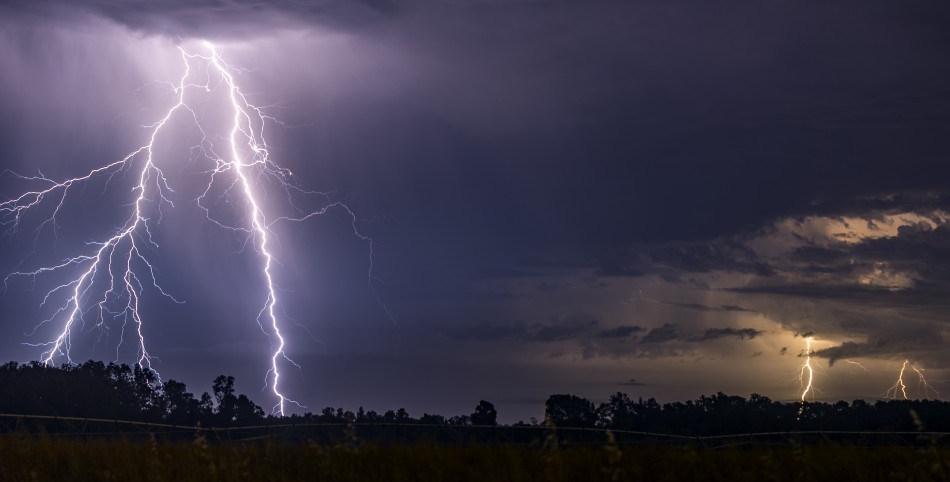 Meteorología anuncia tormentas eléctricas a partir de mañana.
