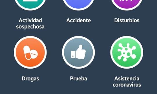 """Aplicación Sosafe tendrá botón llamado """"Asistencia Coronavirus""""."""